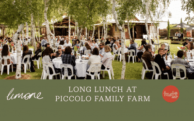 Long Lunch at Piccolo Family Farm